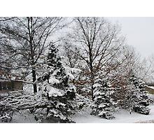 Awe Yes Glorious Snow Photographic Print