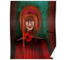 A Redhead Portrait Poster