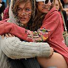 Lovers hugging at Reading Festival by Gavinmc