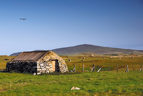 Berneray: Bothy in Borve by Kasia-D
