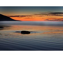 Sunset rock,Rossbeight Photographic Print