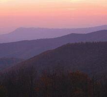 Shenandoah Sunset by Stephen Vecchiotti