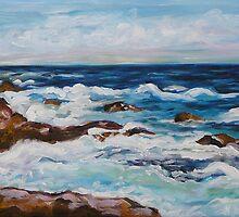 Ocean View Maui Hawaii  by Gayle Utter