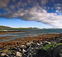 Berneray: Low Tide at Borve Beach by Kasia-D