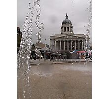 Through the fountain Photographic Print