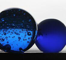 Blue orbs by Dirk Pagel