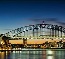 Opera House ~ Harbour Bridge by Andi Surjanto