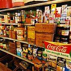 stocked shelves by Lynn McCann