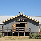 Murray Downs Woolshed - Hay, NSW by Leanne Nelson