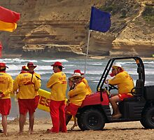 Jan Juc SLSC Legends Patrol by Andy Berry
