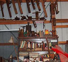 Kansas Woodworker's Shop by sandycarol