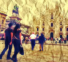 MILANO-PIAZZA DUOMO 2 by Aurora Pintore