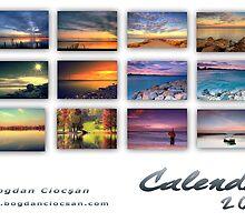 Calendar 2010 Waterscapes by Bogdan Ciocsan