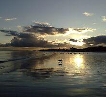 December Sunset Bridlington by Merice  Ewart-Marshall - LFA