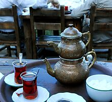 Turkish Tea - Istanbul, Turkey by SebastianPhoto