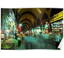 Egyptian Spice Bazaar - Istanbul, Turkey Poster