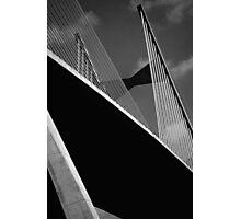 The Dames Point  Bridge - Florida Photographic Print