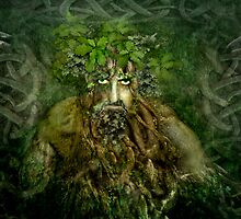 The Green Man by Angie Latham