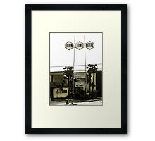 Motel - No Vacancy! One Night Stand Discount Available Framed Print