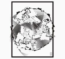 Three Wolves One Moon (reversed) by Matt Thurston