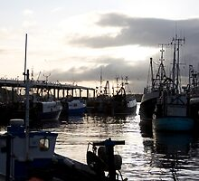 North Shields Fish Quay by Catherine Dipper