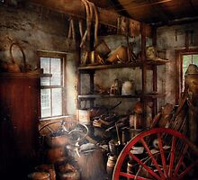 Black Smith - You thought your shop was messy by Mike  Savad