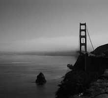 San Francisco fog by Maggie Hegarty
