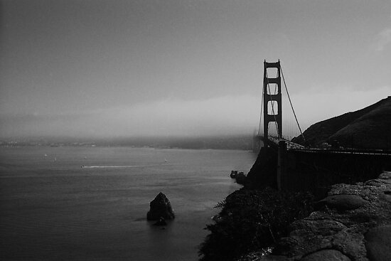 San Francisco fog by Maggie Hegarty
