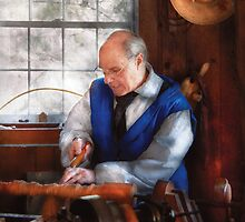 Carpenter - The Woodturner by Mike  Savad