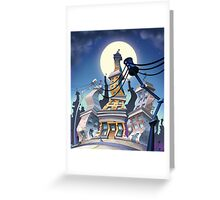 Crazy City 1 Greeting Card