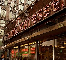 Katz Deli, New York City by Brooke Findlay