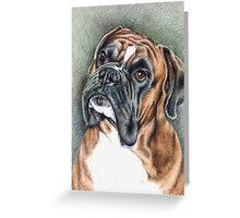 Boxer Balu Greeting Card