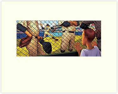 A Boy in the Bullpen by Jon Keegan