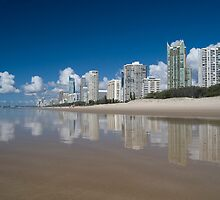 Surfers Paradise - Australia by Anthony Wilson