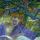 violet  shadow by elisabetta trevisan