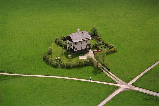 The Undertaker's House - Austria by Kent DuFault