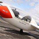 Grob G102 Astir glider ready to launch by RedSteve