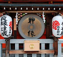 Paper Lanterns at Kiyomizudera Temple  by jojobob