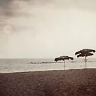 parasol beach by NicNilla