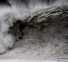 Winter Waves At Pipeline 4 by Alex Preiss