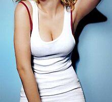 Scarlett Johansson by MissDecember