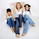 Blue Jeans, Bare Feet, and Funny Faces by Tamara Brandy