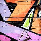 Baltimore Graffiti Close Up by Drew Poland