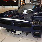 "Blue ""Blu Tour de France"" Ferrari FXX, Rear View, Maranello, Italy by Igor Pozdnyakov"