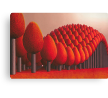 Populus flucta Canvas Print