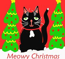 Meowy Christmas by Julie Everhart