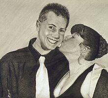 Kaleb and Lissa by Rex Hensler
