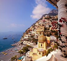 Positano view by Neil Buchan-Grant