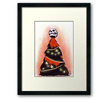 BLACK XMAS: Feliz Navidad Framed Print