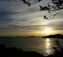 Sunset in Ibiza by Jessica Lister